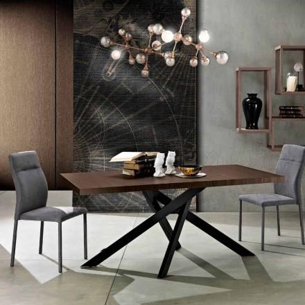 Wysuwany stół jadalny z drewna melaminowego wyprodukowany we Włoszech, Dionigi