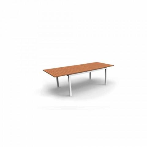drewno tekowe Jadalnia Stół Rozkładany drewna