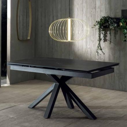 Stół rozkładany o konstrukcji z ceramicznym blatem do 240 cm - Ultron