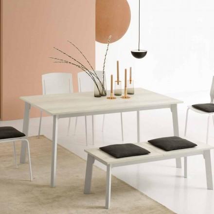 Rozkładany stół jadalny z 6/8 siedzeniami - Arnara Basic