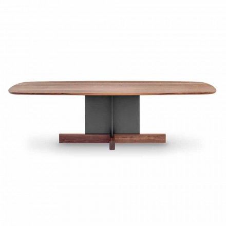 Zaprojektuj stół do jadalni z podstawą krzyżową Made in Italy - stół krzyżowy Bonaldo