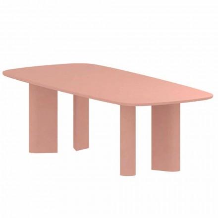 Zaprojektuj stół do jadalni z gliny Made in Italy - stół geometryczny Bonaldo