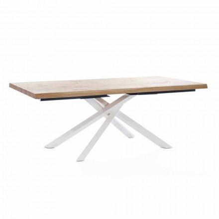 Zaprojektuj stół do jadalni z drewna i metalu Made in Italy - Skipper