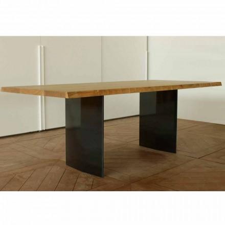 Nowoczesny dębowy stół wykonany we Włoszech 200x100cm Paul