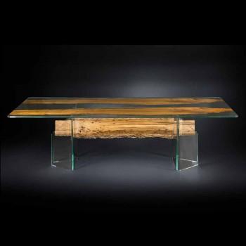 delfinów drewnianym stole projektowania i Wenecji szkła weneckiego