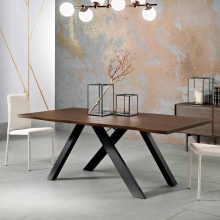 Stół z litego drewna wykonany we Włoszech, Wilmer