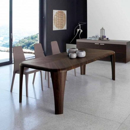 Nowożytnego projekta drewniany stół handmade w Włochy drewnie