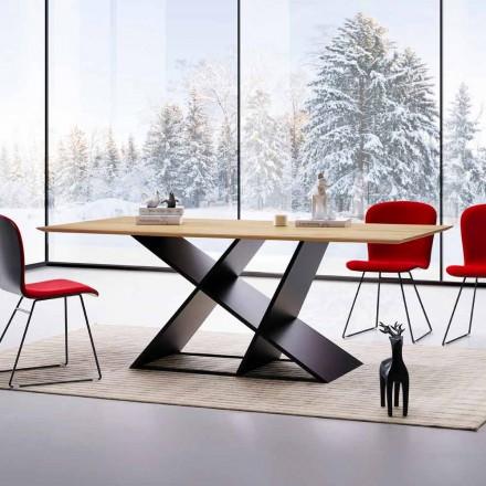 Stol nowoczesny desin drewno wielowarstrowe made in Italy Amaro