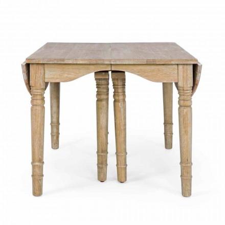 Klasyczny stół z litego drewna rozkładany do 382 cm Homemotion - Brindisi