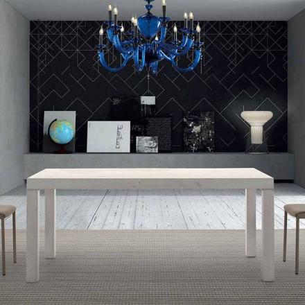 Rozkładany stół z drewna melaminowego do 470 cm Made in Italy - Gordito