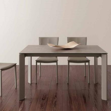 Rozkładany szklany ceramiczny stół Terni do 240 cm