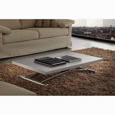 Stół lub stolik rozkładany blat płyta melaminica model Nuoro