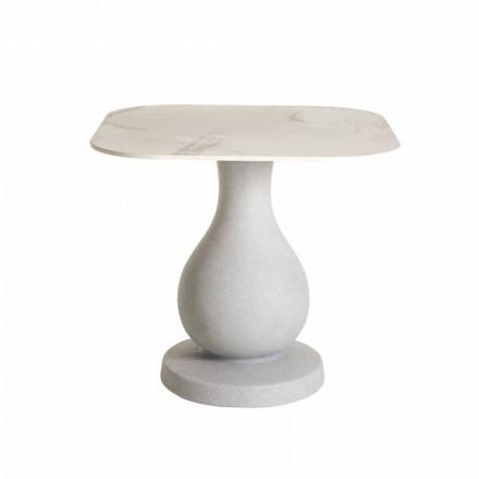 Kwadratowy stół jadalny, powierzchnia w HPL - Ottocento