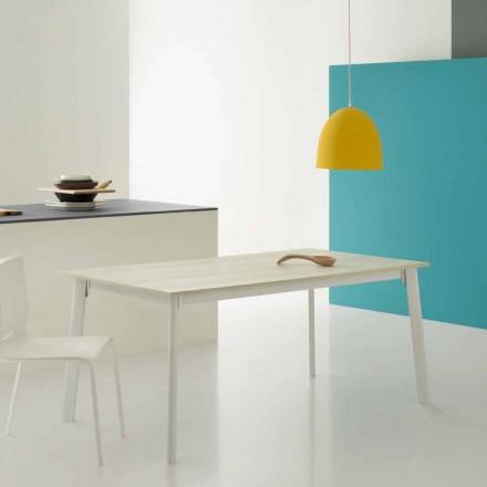 Nowoczesny prostokątny rozkładany stół z 6/8 miejscami - Sellia Basic