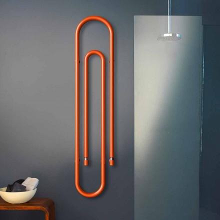 Grzejnik design elektryczny spinacz kolorowy  by Scirocco H