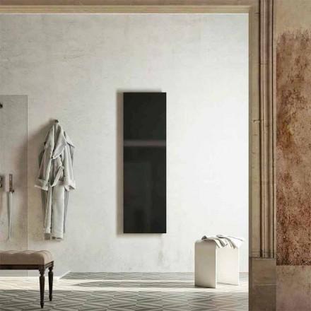 Nowoczesny podgrzewany wieszak na ręczniki, produkowany we Włoszech przez Fidenza