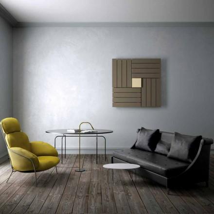 Grzejnik kwadratowy hydrauliczny design Square by Scirocco H