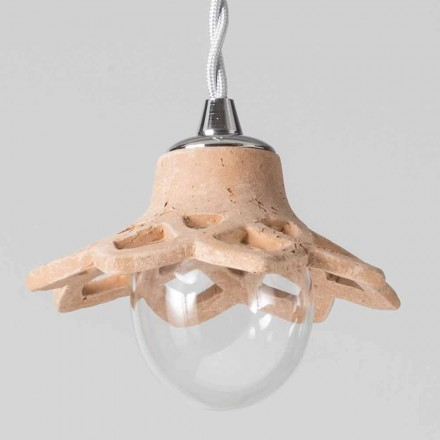 Toscot Apuane lampa wisząca terakota bez podsufitka  Italy
