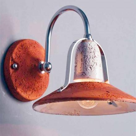 Toscot Asiago lampa ścienna z ramieniem produkowana w Toskanii