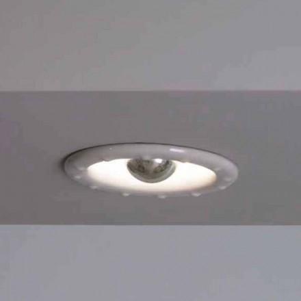 Toscot Battersea lampa wpuszczana Ø14 cm made in Toscana
