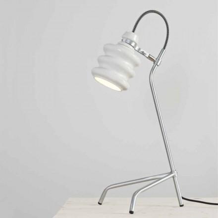 Toscot Battersea lampa stołowa z ceramiki design
