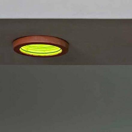 Toscot Carso lampa wpuszczana Ø23 cm made in Toscana