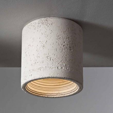 Toscot Carso lampa sufitowa Ø13 cm made in Toscana