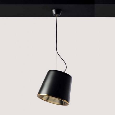 Toscot Henry lampa wisząca z podsufitką Ø37cm, 1 szt