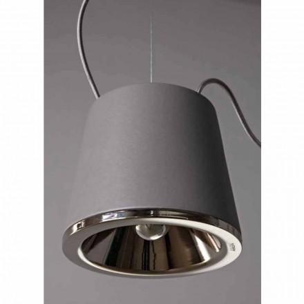 Toscot Henry lampa wisząca z podsufitką Ø20cm made in Toscania, 1 szt