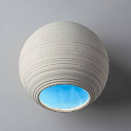 Toscot Newton lampa sufitowa/ścienna z terakoty