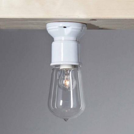 Toscot Novecento lampa sufitowa nowoczesna z terakoty i szkła