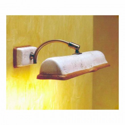 Toscot Vinci lampa ścienna 2 punktowa made in Toskania