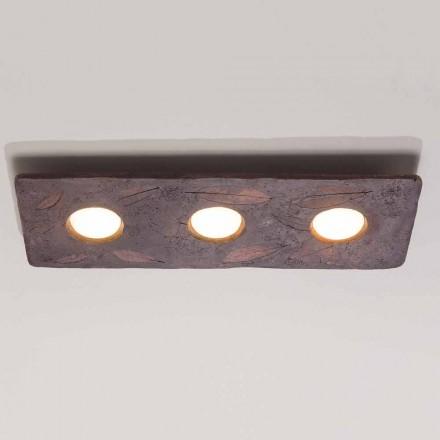 Toscot Vivaldi to designerska lampa ścienna z terakoty wyprodukowana we Włoszech