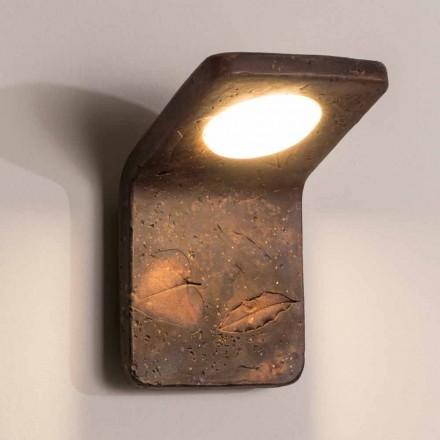 Toscot Vivaldi ręcznie wykonana lampa ścienna z terakoty we Włoszech