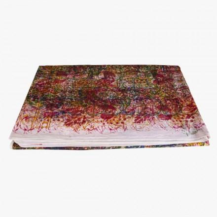 Ręcznie robiony bawełniany obrus Ręcznie wykonany unikalny kawałek - Viadurini od Marchi