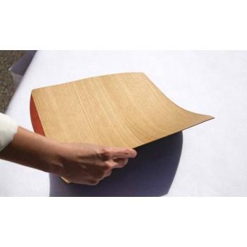 Nowoczesna prostokątna podkładka z drewna dębowego Made in Italy - Abraham