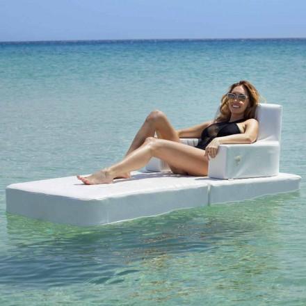 Fotel Trona Basic do nowoczesnego basenu wyprodukowanego we Włoszech