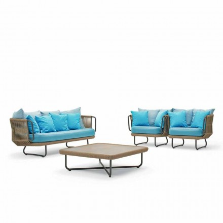 Varaschin Babylon salon ogrodowy,kanapa, 2 fotele i 1 stolik