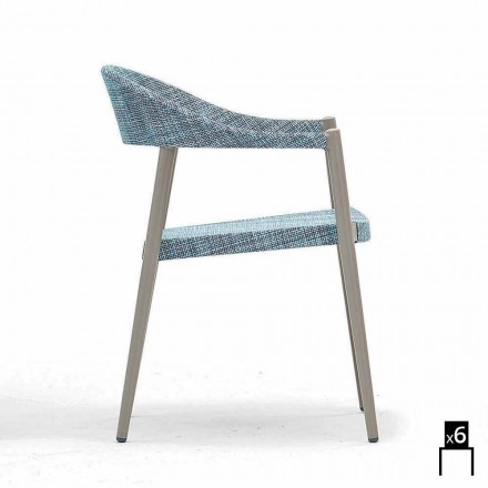 Varaschin Clever fotel ogrodowy design, 6 szt