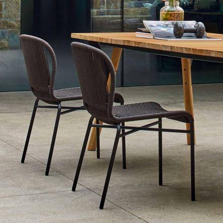 Varaschin Cricket krzesło ogrodowe design, 2 szt