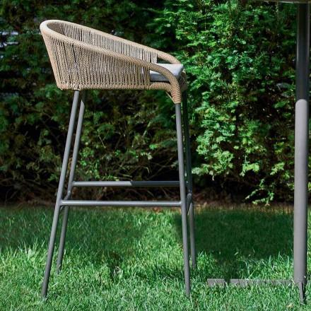 Varaschin Cricket taboret ogrodowy z aluminium, 2 szt