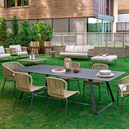 Varaschin Kolonaki stół ogrodowy w różnych wymiarach