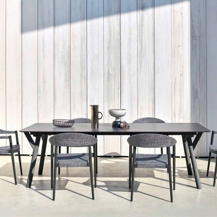 Varaschin Link stół ogrodowy rozkładany, design do 350 cm