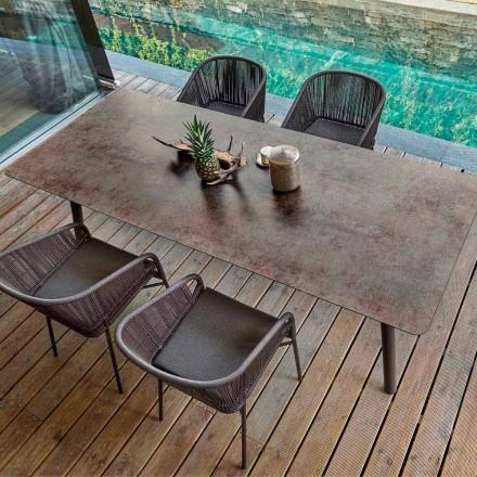 Varaschin Link stół do jadalni design, wysokość 65 cm