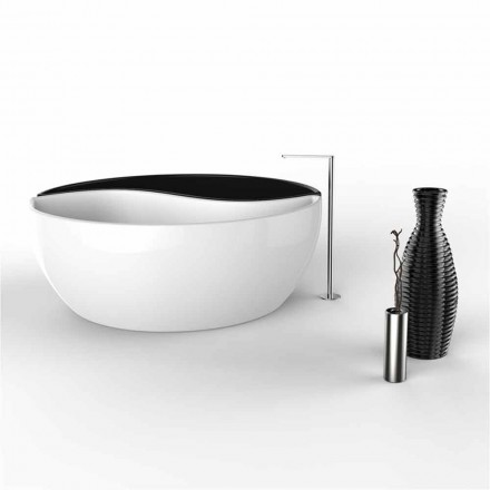 Wanna wolnostojąca z Solid Surface®  Bath Tao Made in Italy