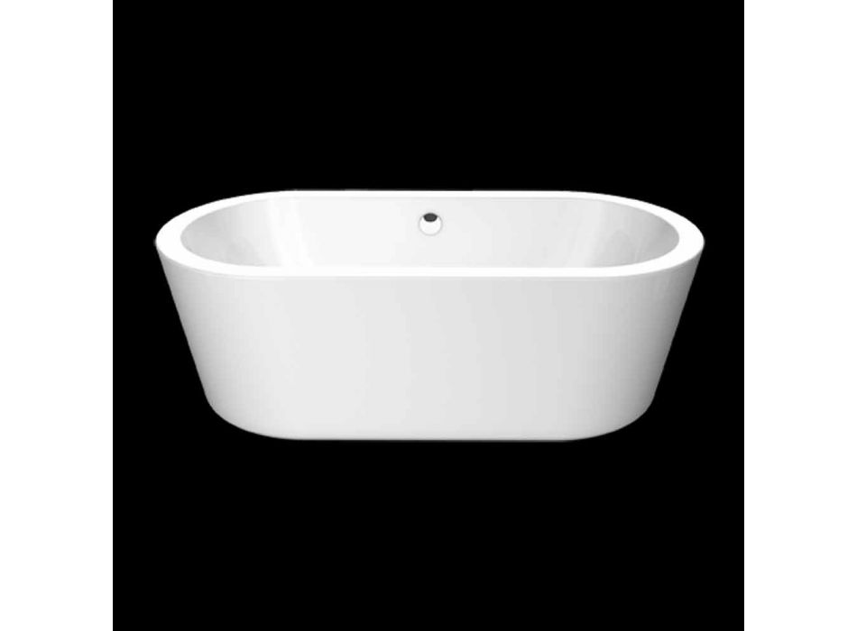 Biała wanna wolnostojąca Nicole 1775x805 mm z akrylu
