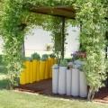Wazon dekoracyjny do zewnątrz Slide Bamboo made in Italy