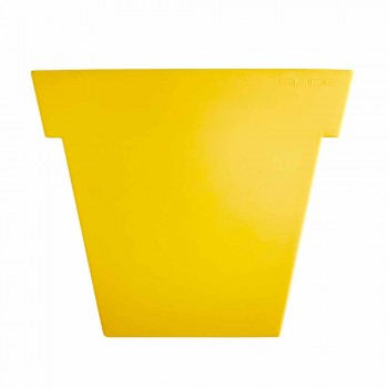 Kolorowy wazon dekoracyjny Slide Nowoczesny wazon polietylenowy wykonany we Włoszech