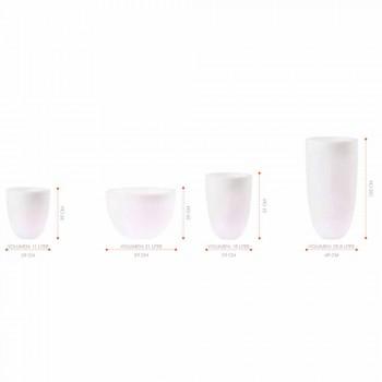 Wazon podświetlany na zewnątrz i wewnątrz Nowoczesny design Kolorowy plastik - Svasostar