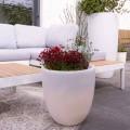 Design Podświetlany wazon zewnętrzny i wewnętrzny z kolorowego polietylenu - Svasostar